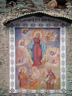 Votive Fresco: Vergine Immacolata