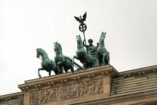 Quadriga on Brandenburger Tur | by Bernt Rostad