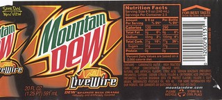 Mt Dew LiveWire | by Paxton Holley