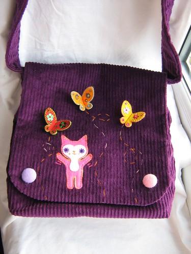 Satu and the Butterflies bag | by Joey's Dream Garden