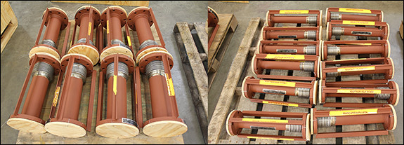 Single Expansion Joints for Oil Pipeline Application