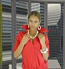 Supermodel Jessica in the view3d.tv studio