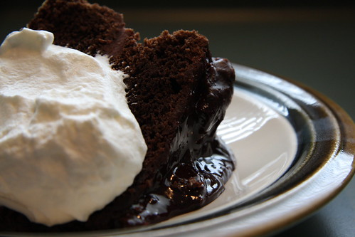 """American Style"" Fudge Cake 