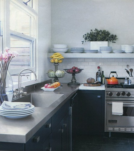 Apartment Therapy 5 12 11 Gray And White Kitchen Flickr