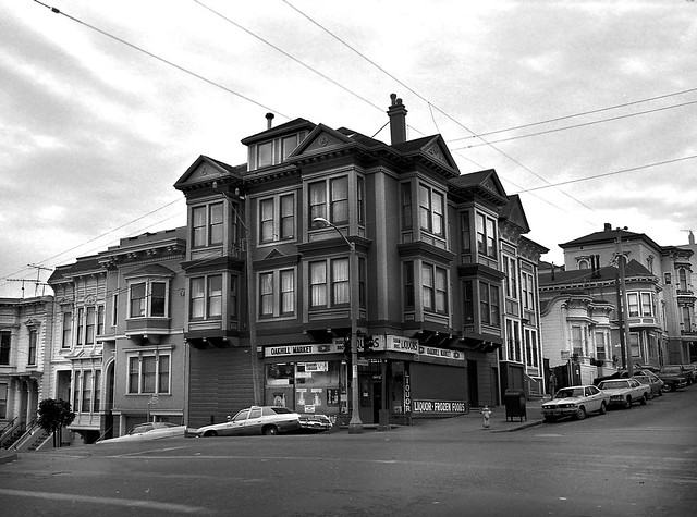 Oak and Buchanan, San Francisco
