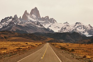 Fitz Roy mountains | by oenvoyage