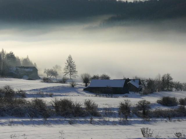 Mist in Skrzynka Dolna