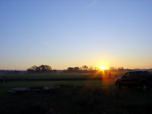 sunrise landscape anniversary hotairballoon stillwater