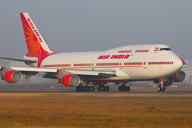 Air India Boeing 747-4H6 VT-AIS Sanchi (7779)