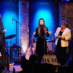 Wed, 08/02/2017 - 9:22pm - Flo Morrissey and Matthew E. White perform for WFUV Members at City Winery in New York City, 2/8/17. Hosted by Rita Houston. Photo by Gus Philippas.
