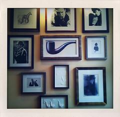 wall at The Sherlock Holmes Hotel, Baker Street, London | by hajime7