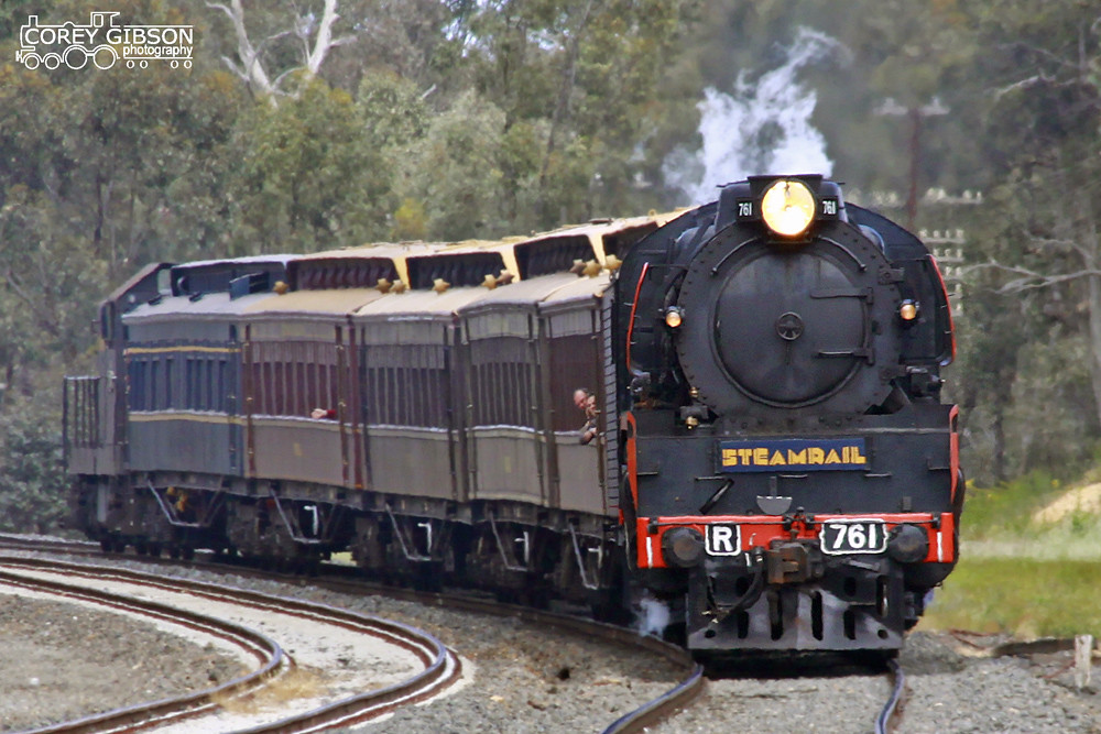 R761 heads out to Mangalore by Corey Gibson