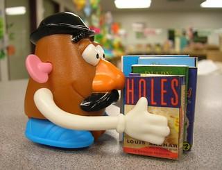 Mr. Potato Head Has His Nose in a Book | by Enokson