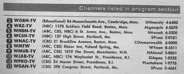 New England Edition (July 5, 1958) | From my TV Guide collec… | Flickr