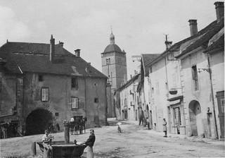 Place du Bourg de Merlia