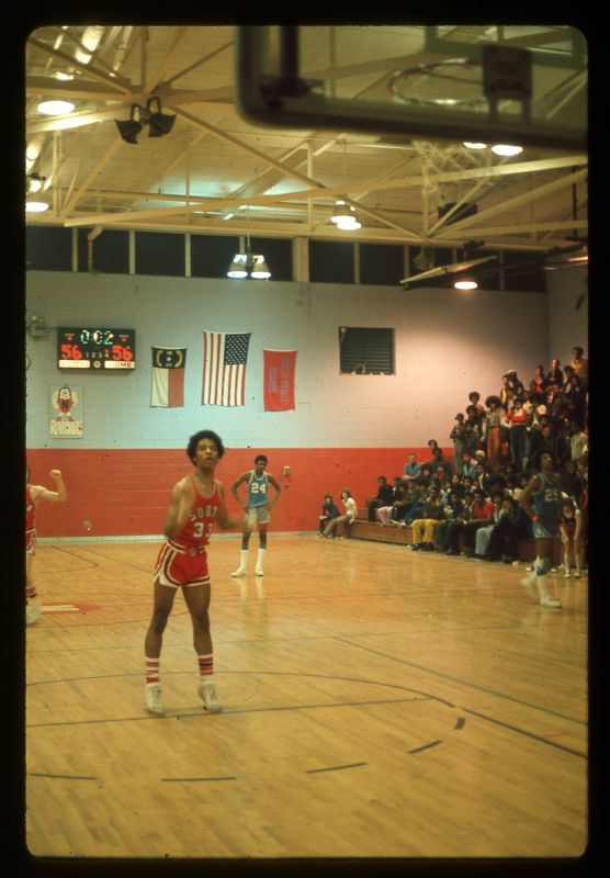 South Rowan Men's Varsity Basketball 1974 Percy Caldwell Technical Foul  24bit 2400dpi sksdlide  img341