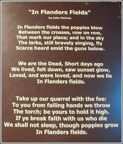 One of the most famous poems about World War I | by LIVING... MAEDEANS STYLE