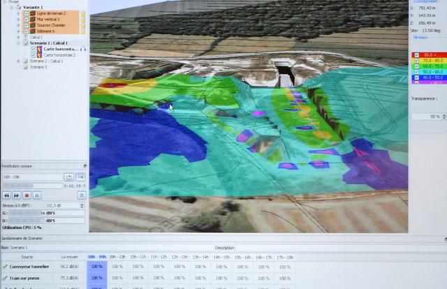Simulation de chantier par le CSTB (Laval Virtual)