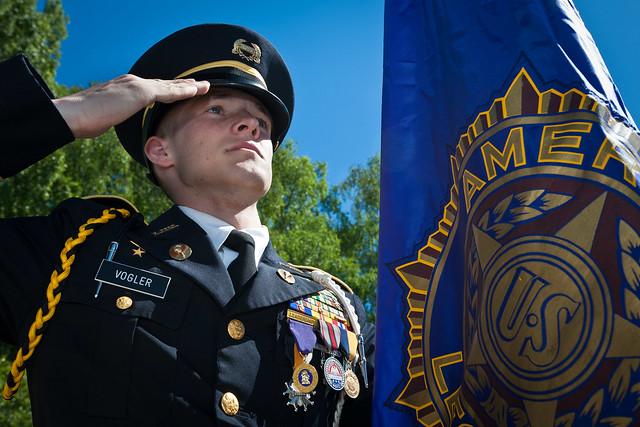 Cadet Major Jarett Vogler