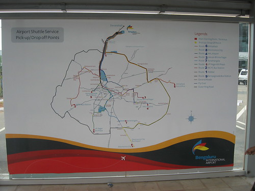This is the Route Map.  For city to BIAL services and timings go to http://www.mybmtc.com/airportservices If out of service go instead to  http://mpvinay.blogspot.com/2009/09/bmtc-vayu-vajra-volvo-service-to.html