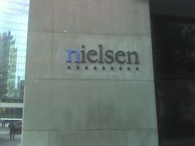 Nielsen logo arrives at 770 broadway