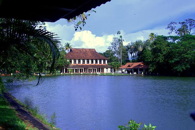 A click of Taj Resort which is one of the top restaurants in Kumarakom