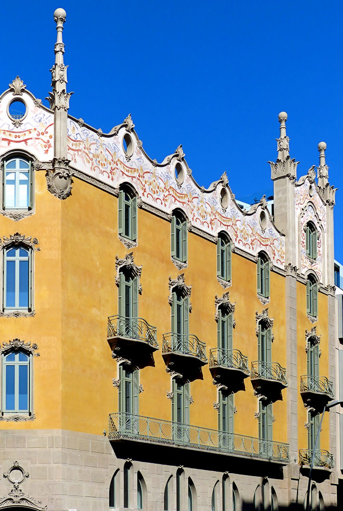 Barcelona - Passeig St  Gervasi 051 02   La Rotonda 1908 Arc