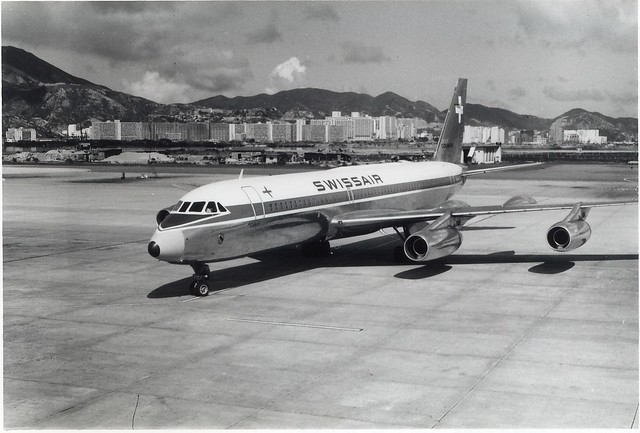 Swissair CV-990 HB-ICA