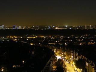Night at Richmond from St Matthias Spire