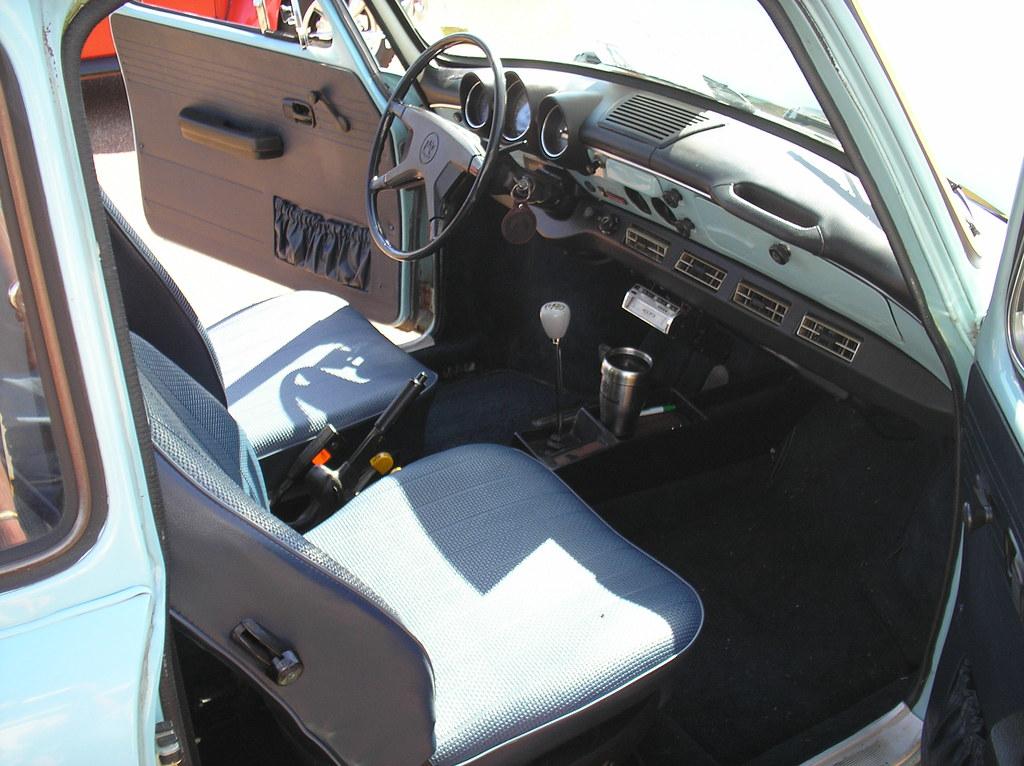 ... 1973 Volkswagen Squareback Sedan (Type 3), interior   by benteen