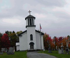 A country church in Autumn | by A Storybook Life