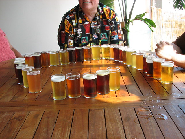 A Beautiful Array of Beers