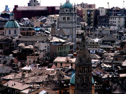 Watching Genoa from above | by Pedro Nuno Caetano