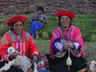 Quechuan ladies | by Greenery