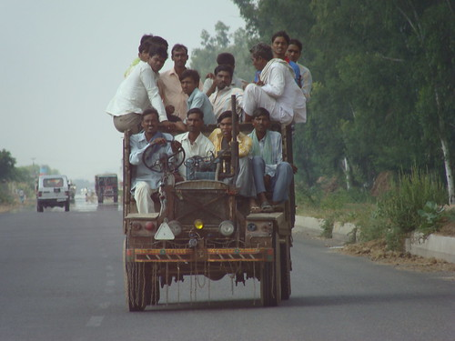 Indian Style Carpooling | by clara & james