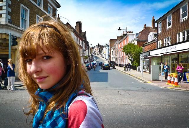 Hannah in Lewes