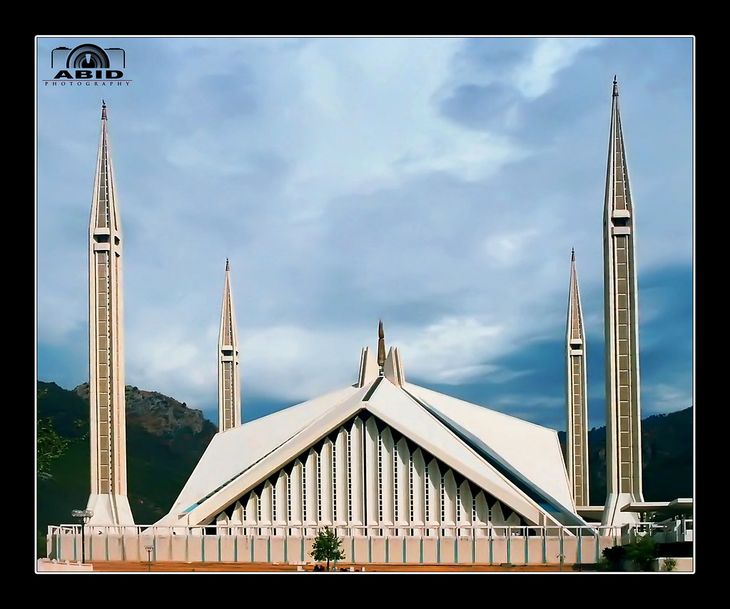 Faisal Mosque Faisal Masjid Islamabad Islamic Wallpaper