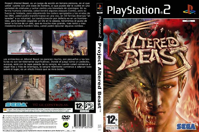 Altered Beast PS2 TO PS4