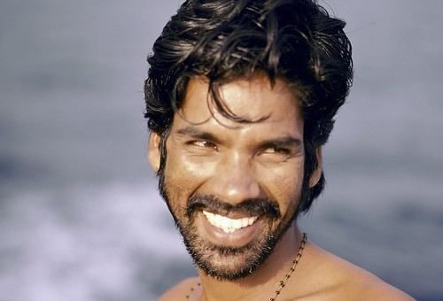 Portrait smiling man. India | by World Bank Photo Collection