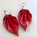 Paper Bling! Paper Earrings, Paper Jewellery, India