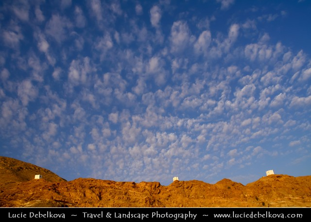 Yemen - Early Evening under Al Mukhala's Beautiful Sky