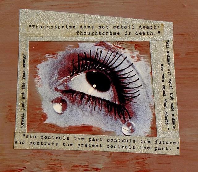Three Medusas closeup of text