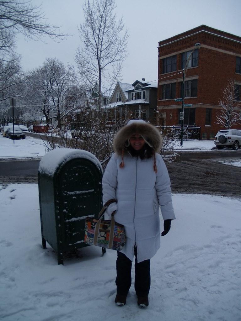 Winter 2008, Chicago IL | Lincoln Square, Winter coats and