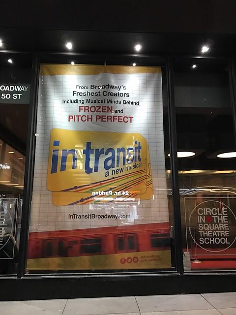 金, 2017-02-03 19:35 - In Transit @ Circle in the Square Theater