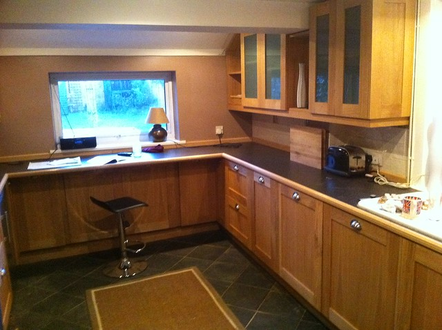 Bespoke Kitchen in solid oak