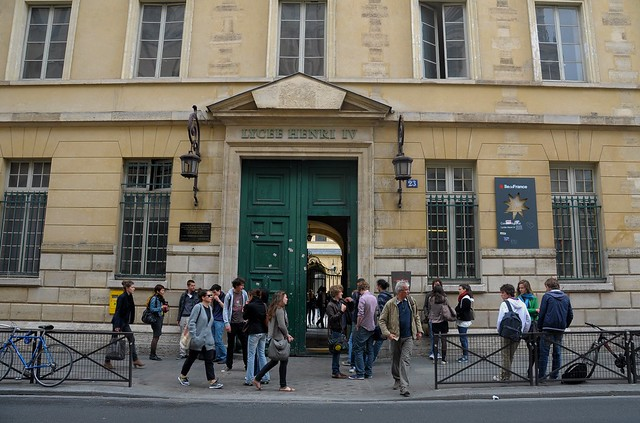 A high school in Paris
