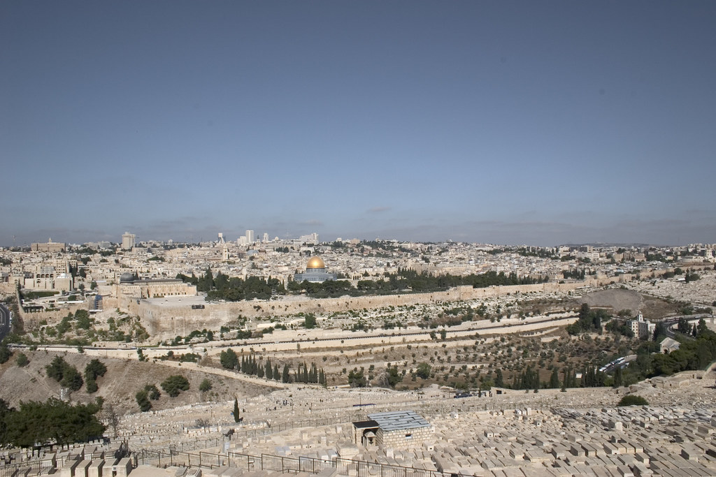 PANORAMIC VIEW POINT: Mount of Olives