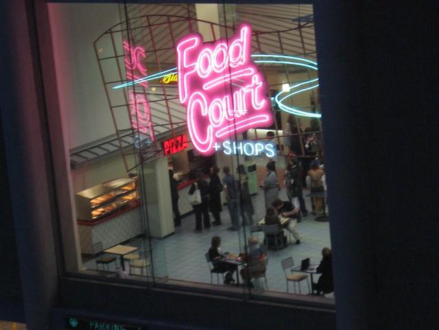 Food Court At Night