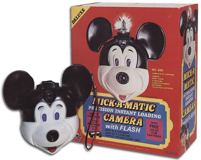 Mick-a-Matic Camera