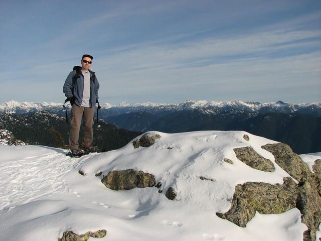 Mt Seymour Snowshoe, 8 Dec 2007
